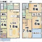 3号棟【2450万円】(間取)