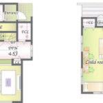 C邸 土地面積 62坪 建物面積 33.2坪