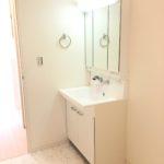 ◆洗面台◆ 三面鏡シャワーヘッド付き♪