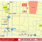 【ナビ設定:岐阜市長良西山前20番1付近でお越しください!】(地図)